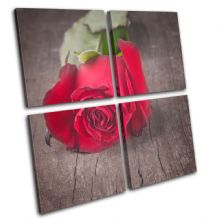 Rose Flowers Love Floral - 13-1362(00B)-MP01-LO